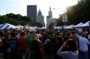 Folla al Chicago Blues Festival