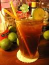 Long Island Iced Tea con i suoi ingredienti