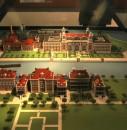 Una ricostruzione in miniatura di Ellis Island