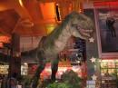 Toys R Us T-Rex statua dinosauro in Times Square