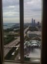 Vista sui grattacieli di Chicago