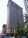 Una facciata del Flatiron Building