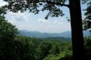 Great Smoky Mountains - Vista sulle montagne