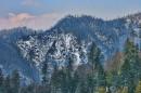 Montagne che circondano il Parco