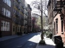 Un viale di Greenwich Village