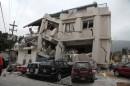 La devastazione, le case che non ci sono più