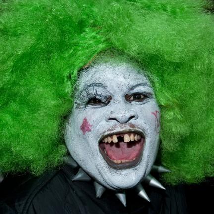Halloween Parade 2010 - Capelli verdi
