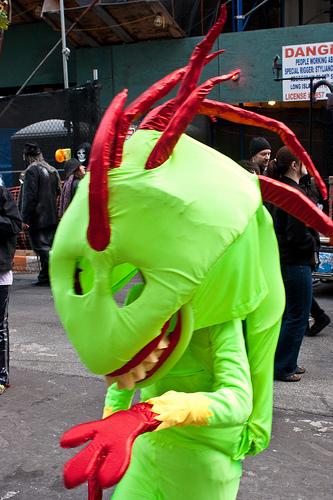 Halloween Parade 2010 - Drago