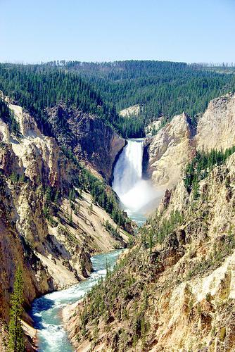 Grand Canyon di Yellowstone