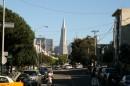Il Transamerica Pyramid domina la città