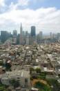 Panorama di San Francisco con il grattacielo Transamerica Pyramid