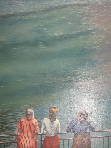 Dipinto della collezione all'interno del Museo