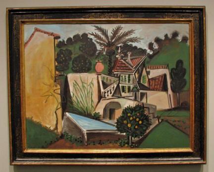 Pablo Picasso - Villa in Villauris del 1951