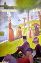 Georges-Pierre Seurat - Sunday afternoon on the island of La Grande Jatte