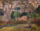 Paul Gauguin -The Big Tree