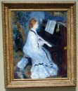 Pierre Auguste Renoir - Woman at the Piano - 1875-76