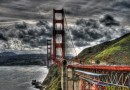 Panorama sul Golden Gate Bridge