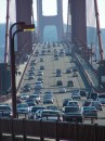 Traffico sul Golden Gate Bridge