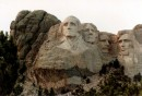 Le sculture dei Presidenti sul Mount Rushmore National Memorial