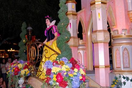 Biancaneve nella Parata dei Sogni