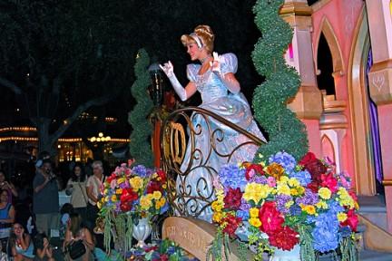 Cenerentola nella Parata dei Sogni