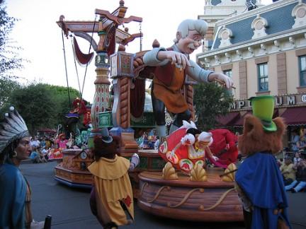 Parata con Pinocchio