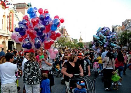 Passeggiando per Disneyland