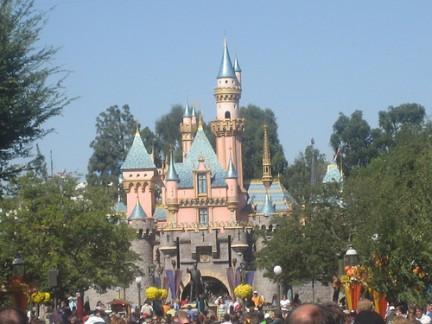 Un castello a Disneyland