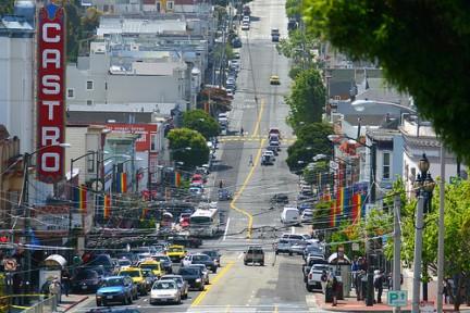 Castro Street - La via dove si trova il Teatro