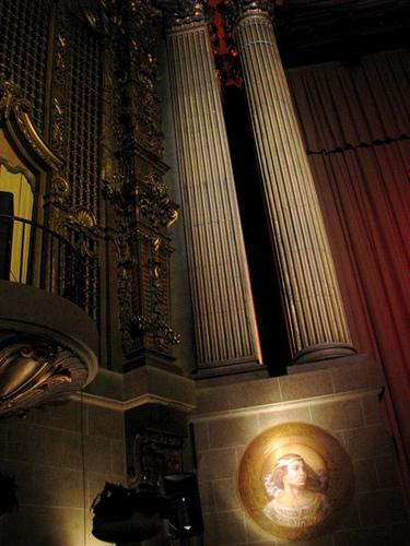 Un angolo interno del Castro Theatre