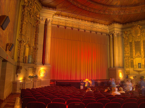 Castro Theatre - In attesa che si apra il sipario