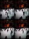 Inverno si pattina al Rockefeller Center