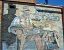 Murales che ricorda il blues