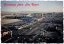 Cartolina con vista di Las Vegas
