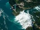 Le cascate del Niagara viste dall'alto