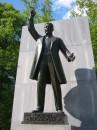 Statua dedicata a Roosevelt