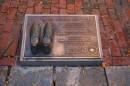 Iscrizione dedicata a Larry Bird per la sua entrata nella Hall of Fame