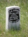Lapide al Generale Custer - Little Bighorn