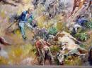 Mural - Little Bighorn