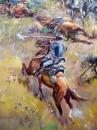 Mural a Little Bighorn