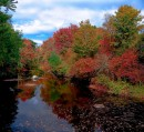 Warner River - New Hampshire - Autunno