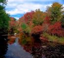 Warner River - New Hampshire - Autunno