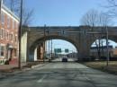 Una strada di Harrisburg