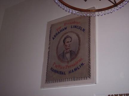 Old State Capitol - Ritratto di Lincoln