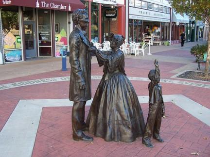 Lincoln - scultura di Larry Anderson