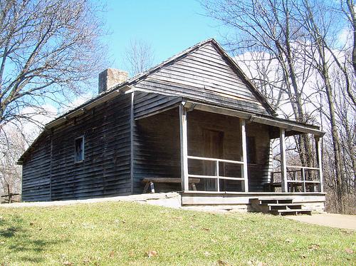 Le case in legno del New Salem
