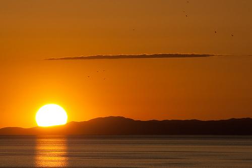 Antelope Island  - Tramonto