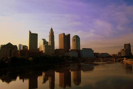 Columbus al tramonto