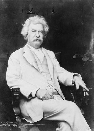 Ricordo di Mark Twain