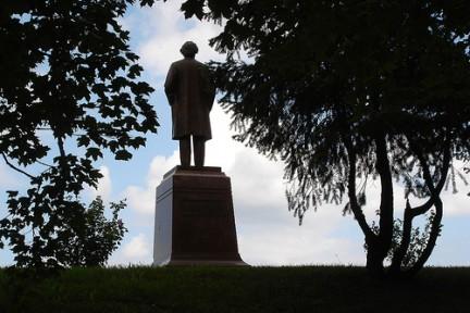 Statua a Mark Twain, Hannibal, Missouri